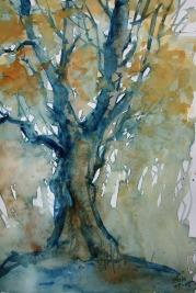261_2016 Watercolor-Sketches /Daler-Rowney Graduate Sketchbook, 21,0 x 29,7 cm / 8.3 x 11.7 in / Lukas Aquarell 1862